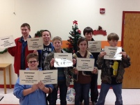 Southeast Junior High Chess Team
