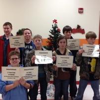 Southeast Junior High Chess Team