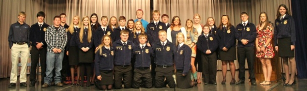 Southeast FFA Chapter Banquet 2015