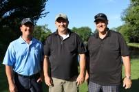 David Stricklin (Southeast Class of 1981), Roger Reynolds (Southeast Class of 1981) and Mitch Van Kam (Southeast Class of 1982)
