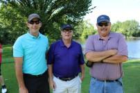 James Osborn, Randy Van Wyck and Jan Remington