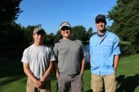 Jarod Watson, Bryce Blockburger and Ryan Rakestraw (all, Southeast Class of 2015)