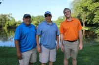 John Lawrence, Brad Miner and Jeremy Gant