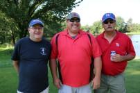 Mike Carrington, Doug Ball and Charlie Velia