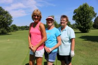 Suzanne Patton, Lisa Ewing and Elaine Castagno