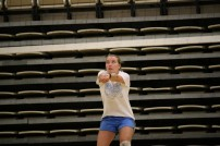 Julie Martin - freshman at Southeast volleyball camp (Medium)