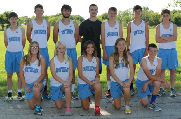 The 2015 Southeast Lancer Cross Country Team