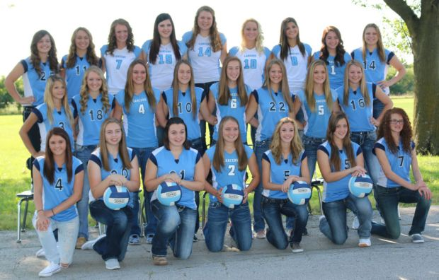 The 2015 Southeast Lancer Volleyball Team