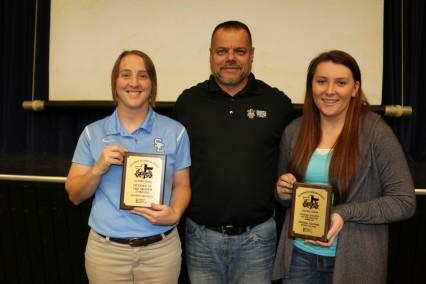 Southeast Coach Laney Lawson, Gary Larson and Melanie Hartman (Medium)