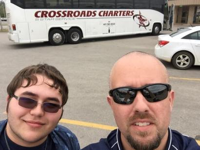 28 senior trip - bryson and mr coots