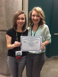National Qualifiers: 2nd place Graphic Design - Sarah Clausen & Laura Ridings