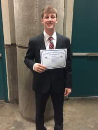 Jake Wycoff-highest place student in Accounting EVER for Southeast. 9th in the state