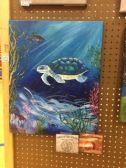"""""""Sea Turtle"""" by Daria Stricklin - SILVER and BRONZE"""