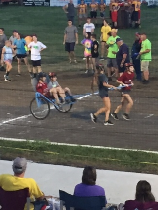 Junior High Chariot Race Team