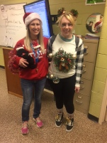 Mrs. Trezona & Shelby Dunaway