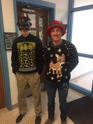 Mr. Wydick & Matthew Fleck