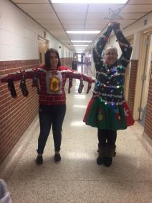 Mrs. Henderson & Kloie Erwin