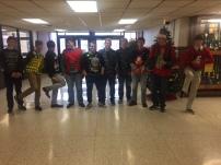 Mr. Hansen & Football Team