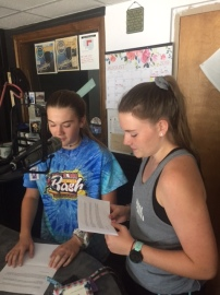 Kinzey Cassidy (left) & Miranda Hartman (right)