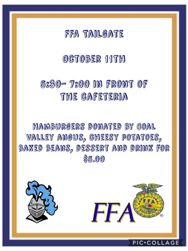 FFA Tailgate 10-11-19