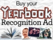 yearbook recognition ad